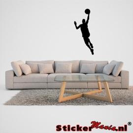 Muursticker basketbal 5