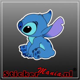 Stitch 3 full colour sticker