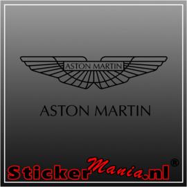 Aston Martin sticker