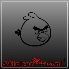 Angry birds red 1 sticker