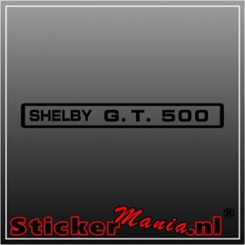 Ford shelby gt500 sticker