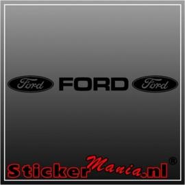Ford raamstreamer sticker