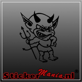 Devil 2 sticker