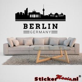 Skyline berlijn 2 muursticker