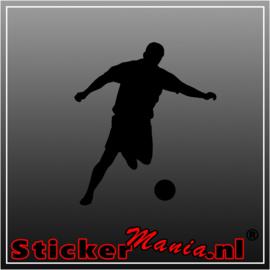 Voetbal 7 sticker