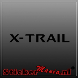 Nissan x trail sticker