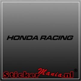 Honda racing raamstreamer sticker