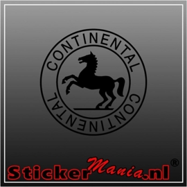 Continental logo sticker