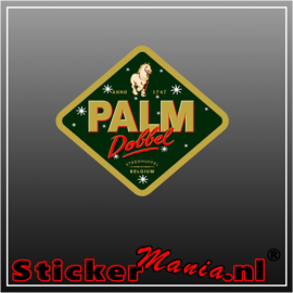 palm dobbel Full Colour sticker
