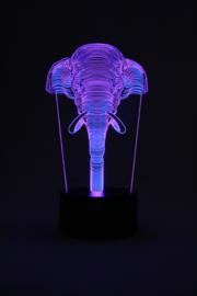 Olifant led lamp