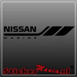 Nissan marine sticker