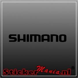 Shimano sticker
