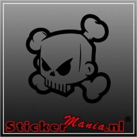 Skull 8 sticker
