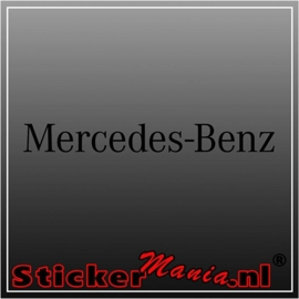 Mercedes benz 2 sticker