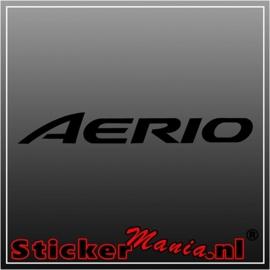 Suzuki aerio sticker