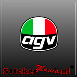 AGV racing Full Colour sticker