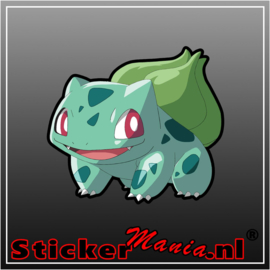 Bullbasaur full colour sticker