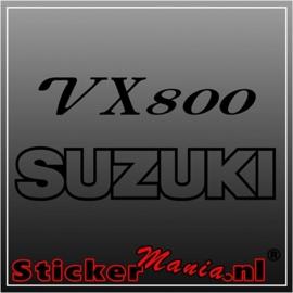 Suzuki VX800 sticker