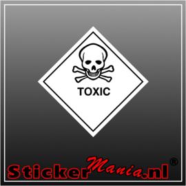 Toxic full colour sticker
