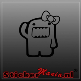 Domo girl sticker