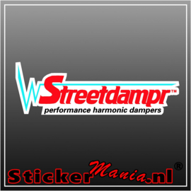 Streetdampr Full Colour sticker