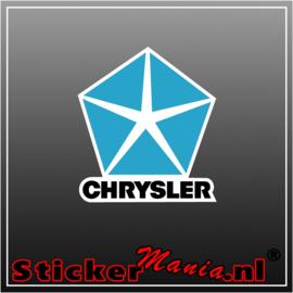 Chrysler Logo Full Colour sticker