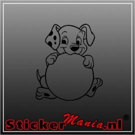 101 dalmatiers sticker