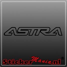 Opel astra sticker