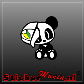 JDM Panda Full Colour sticker