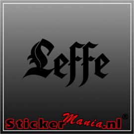 Leffe sticker