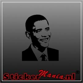 Barak obama sticker