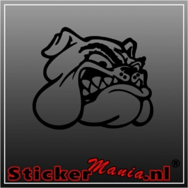 Bulldog 1 sticker