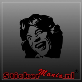 Mick jagger sticker
