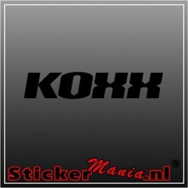 Koxx 2 sticker