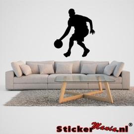Muursticker basketbal 2