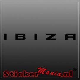 Seat ibiza sticker