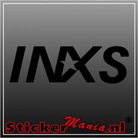 Inxs sticker