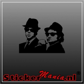 Blues brothers sticker