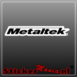 Metaltek full colour sticker