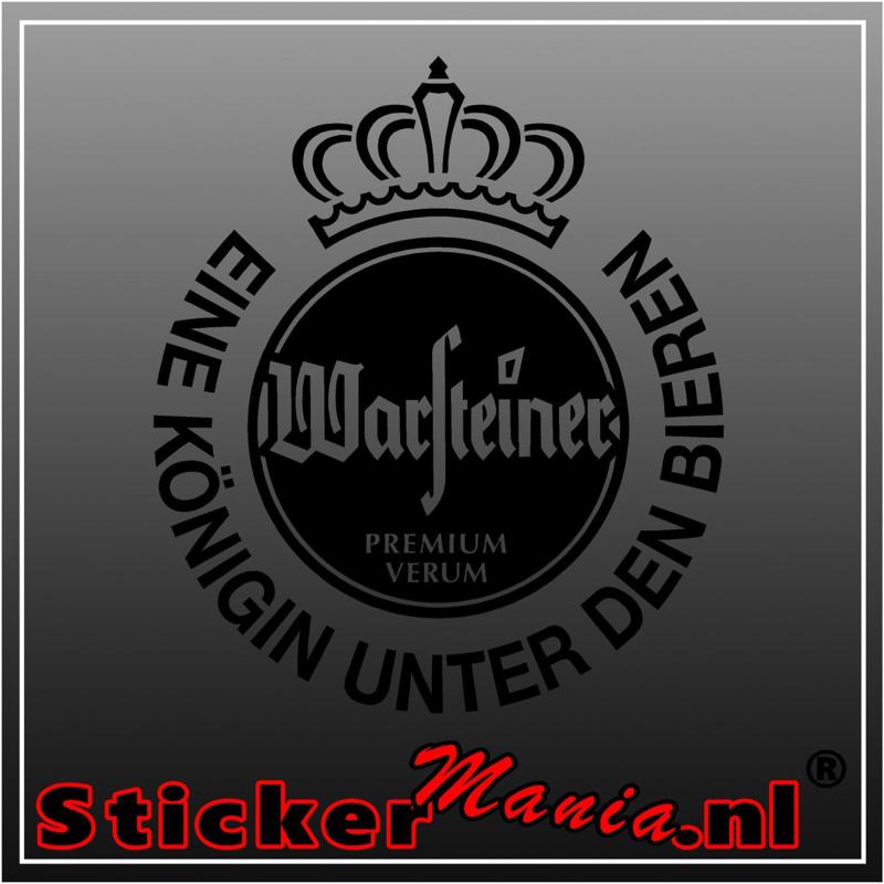 Warsteiner logo sticker