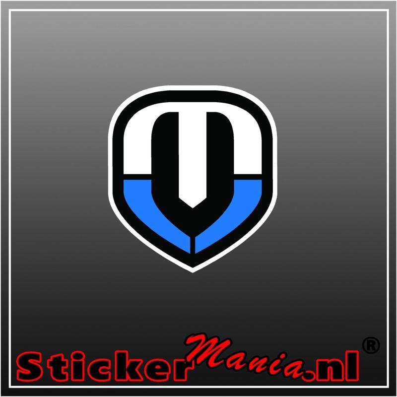 Mondraker logo full colour sticker