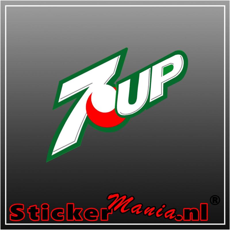 7up Full Colour sticker