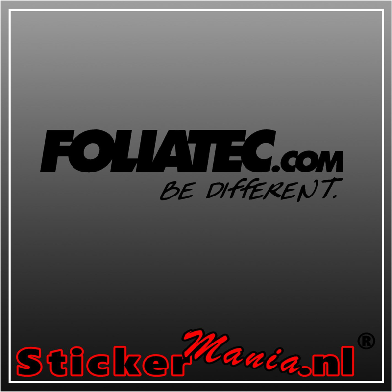 Foliatec sticker