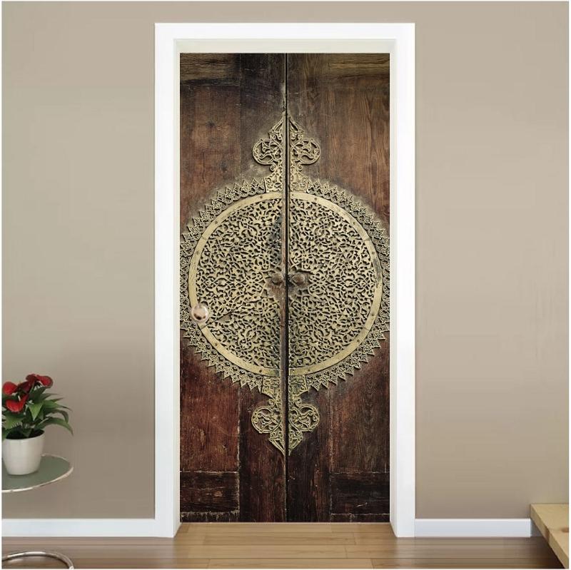 Dubbele deuren 2 deur sticker