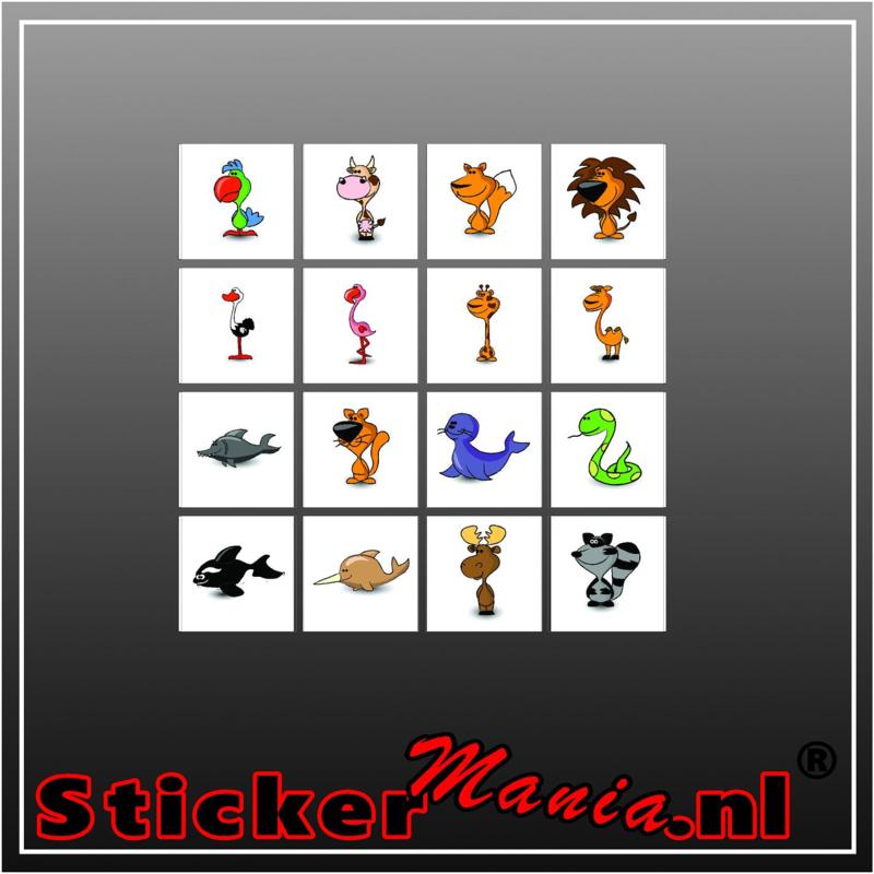 Beloning-sticker set 7