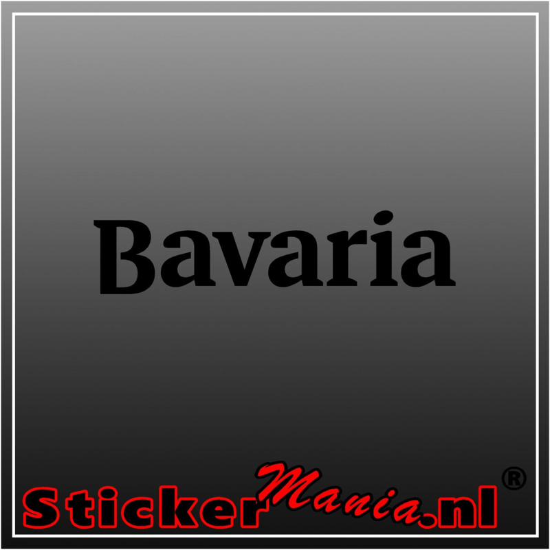 Bavaria sticker