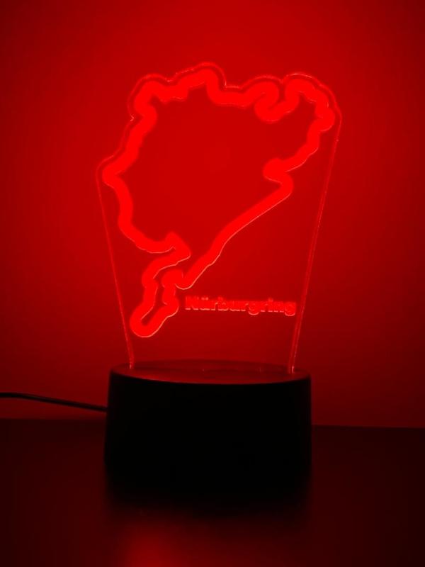 Nürburgring circuit ledlamp