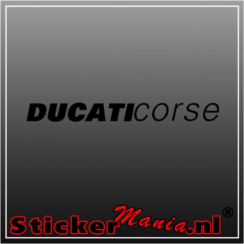 Ducati corse 2 sticker
