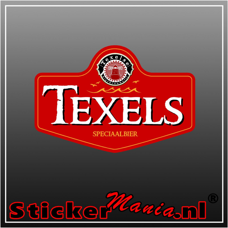 Texels bier full colour sticker
