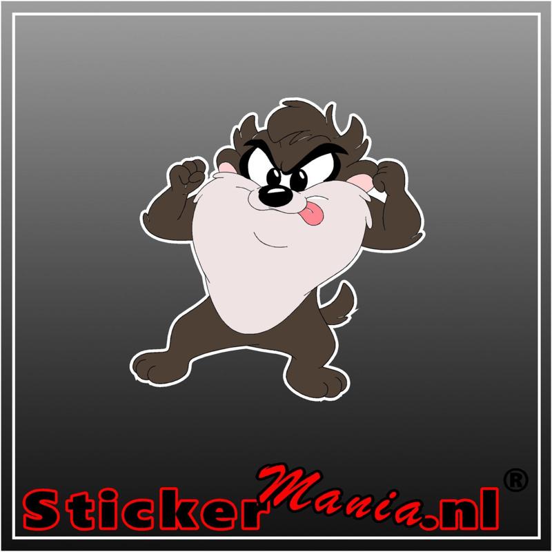 Baby Tasmanian Devil 1 Full Colour sticker